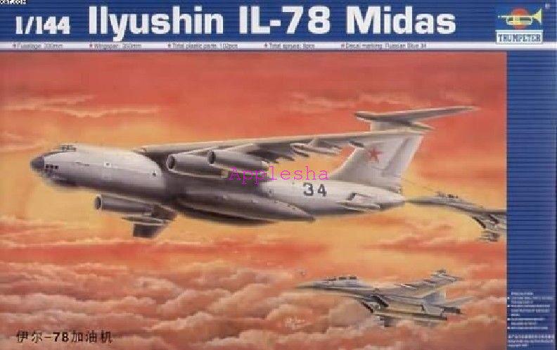 Trumpeter 03902 1 144 Ilyushin IL-78 Midas