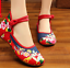 Chinese-Embroidered-Floral-Shoes-Women-Ballerina-Flat-Ballet-Cotton-Loafer-snug thumbnail 46