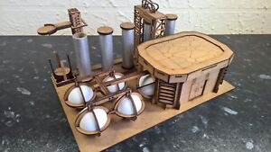 Details about Canister factory warhammer 40k wargame infinity building  terrain scenery Legion