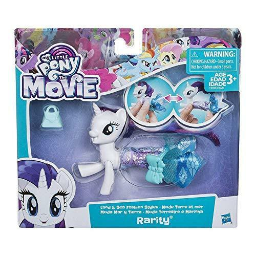 My Little Pony-The Movie Land Sea et fashion styles divers personnages Ages 3+