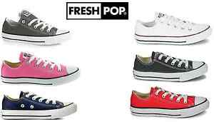 Original-New-Kids-Youths-Converse-All-Star-Ox-Unisex-Lo-Top-Shoes-UK-size-10-2