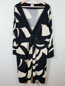 [ LEONA+ / LEONA EDMISTON ] Womens Print  Dress  | Size AU 24