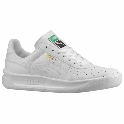 NIB Puma GV Special Jr White Sneakers Kids Girls Boys Unisex Casual Shoes aa569b529