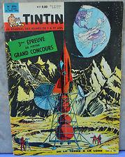 Journal Tintin n°696, 22 février 1962, De la terre à la lune, grand concours