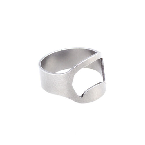 New Men/'s Cool Ring Beer Bar Outil Nouveauté ouvre-bouteille bière Ring Bike Ring