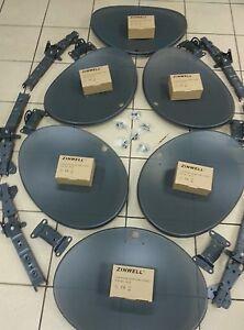 SKY-Satellite-Dish-MK4-JOB-LOT-OF-6-5-x-Quads-1-x-Octo-LNBs-FREESAT