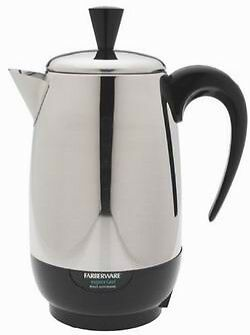 Stainless Steel 8 Cup Coffee Percolator