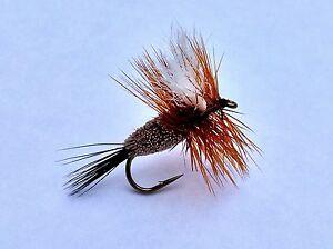 Fly Fishing Flies Bass, Bream, Trout, Salmon, Redfish Zonker Olive 6 flies