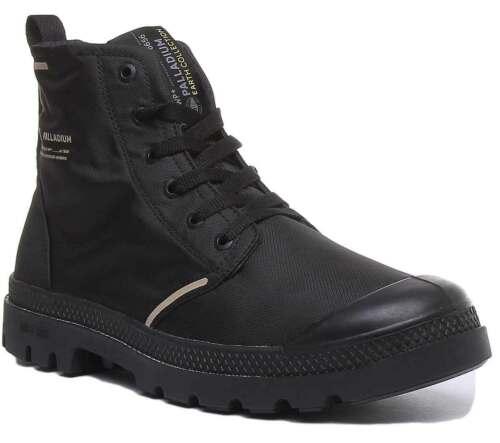 Palladium Lite Rc Waterproof Womens Canvas Ankle Boots In Black Size UK 3 - 8 Black