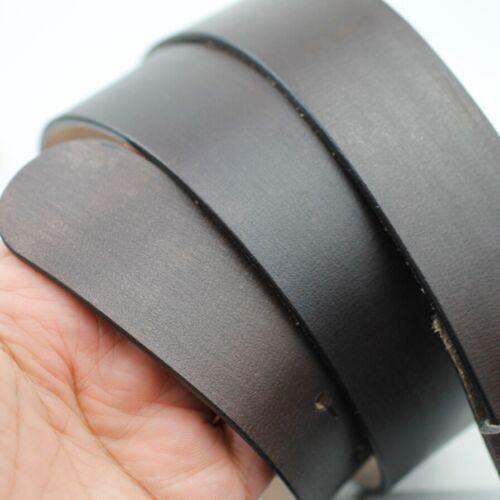 Echt Ledergürtel 4 cm matt schwarz Gürtel Wechselgürtel Leder Damen Herren LG23