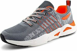 jabasic women breathable knit running sneakers casual