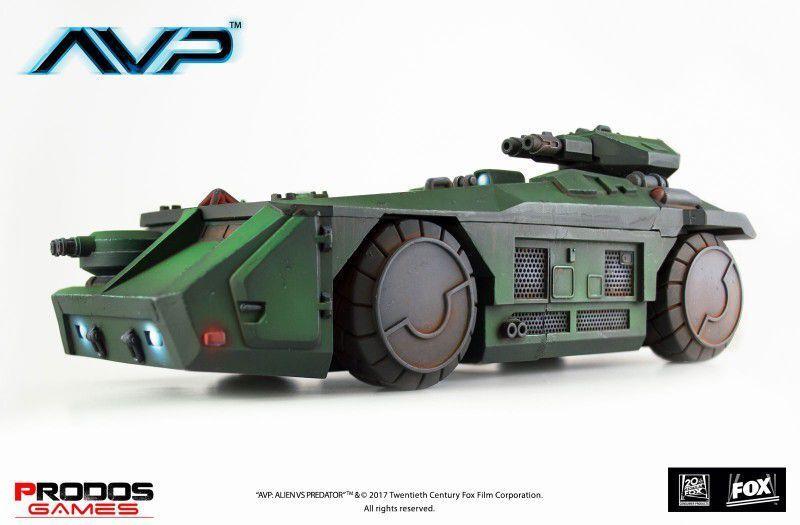 Avp M577 Armourosso Personale Elemento Portante  Tedesco  Prodos Gioco Alien Vs