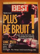 Best 294 du 01/1993-Spécial plus de bruit !-Sonic Youth-Mudhoney-Helmet-Ministry