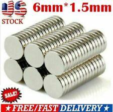 Lot 25 100 Neodymium Magnets Round Disc N35 Super Strong Rare Earth Fridge Us