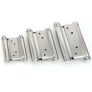 New-Door-Hardware-Stainless-Steel-Double-Action-Spring-Hinges-Adjustable-Tension