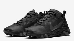 55 scatola 10 9 Bq6166008 grigio Element 12 7 Nuovo React 8 Nike 11 in Nero 7H8Egg