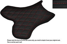 Agarre Diamante Rojo Stitch Custom Fits Yamaha 1000 Yzf R1 04-06 delantera cubierta de asiento