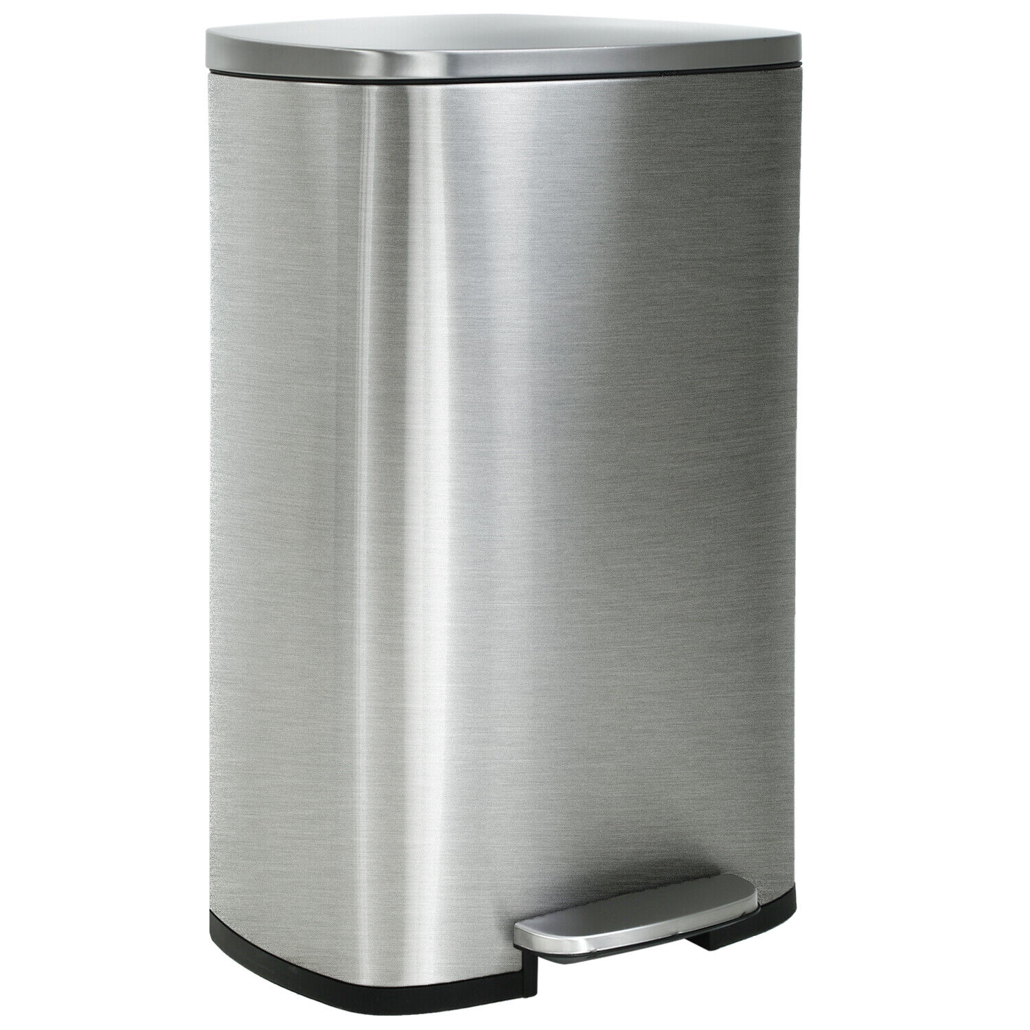 Kitchen Trash Can With Lid For Office Bedroom Step Trash