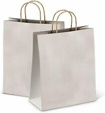 25ct Kraft Paper Bag Party Shopping Gift Bags With Handles 10x5x13