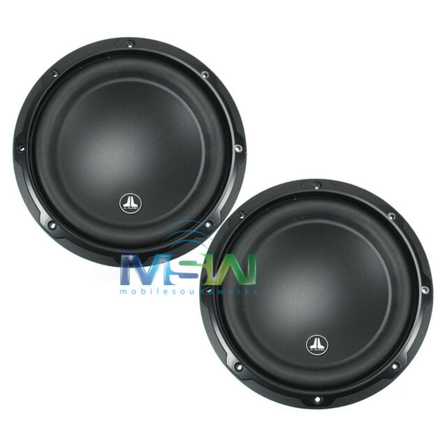 (2) *NEW* JL AUDIO 8W3v3-4 8