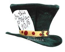 Alice In Wonderland MaD HaTTeR Madhatter Adult Top HAT