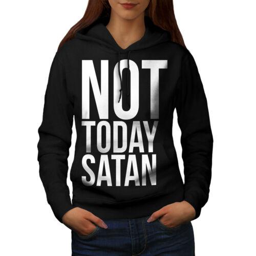 occulte Casual Sweat à capuche Wellcoda ne Today Satan Femme Sweat à capuche