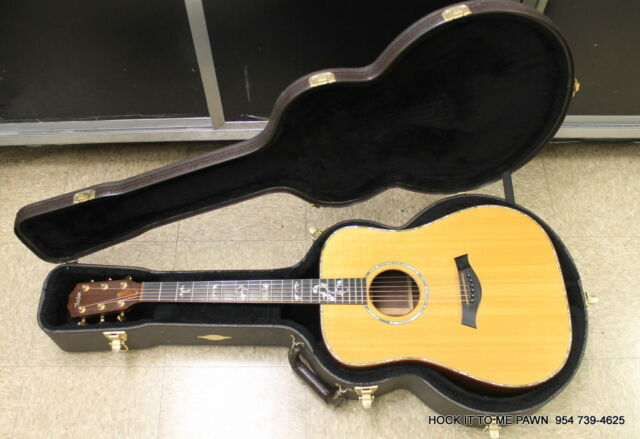 Taylor 910 Dreadnought Acoustic/electric Guitar Natural