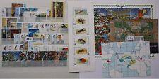 Belgie**1996 JAAR@POSTPRIJS/FACIALE-57 Zegels+3 Blokken+1 Boekje (incl zegels vn