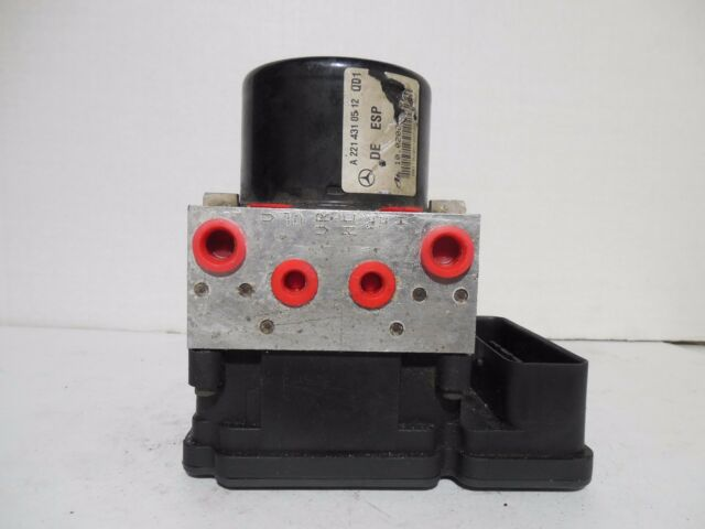 2007-2009 MERCEDES BENZ S550 ABS Brake Pump Control Unit W221 OEM