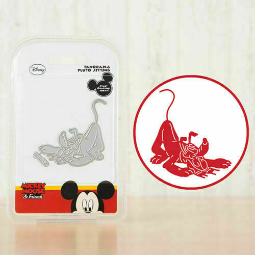 Disney Vintage Mickey /& Friends Panorama pluto assis Découpe dlpan 006