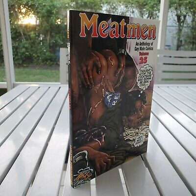 MEATMEN AN ANTHOLOGY OF GAY MALE COMICS VOL 25 BY WINSTON