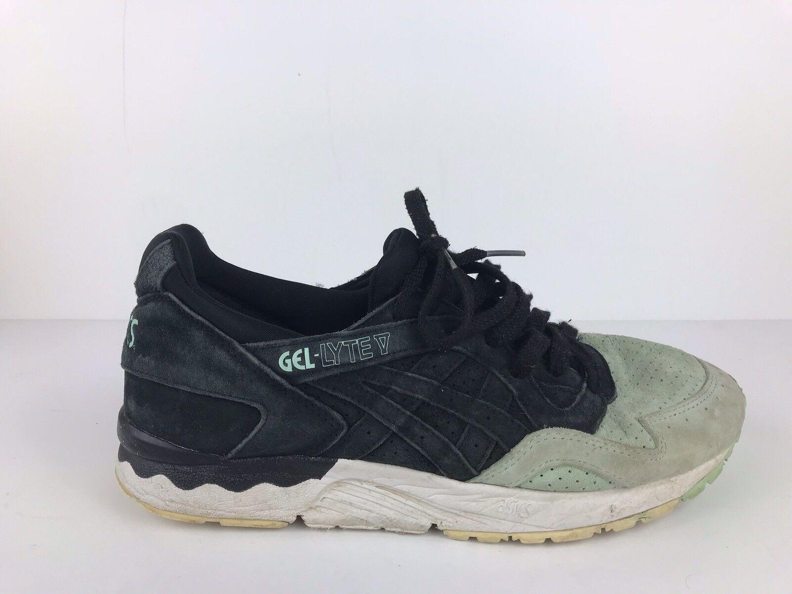 Asics Gel Lyte V Black Mint Casual Trainers shoes H737L Men's US 8
