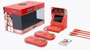 Console-NeoGeo-mini-Samurai-Shodown-Limited-Edition-Bundle-Nakoruru