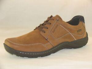 8d8f656e6dc71 Details about Men's Josef Seibel Nolan 46 Brown Lace-up Shoes