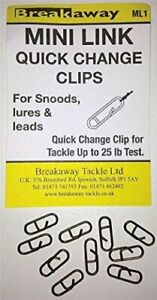 Breakaway-Mini-Link-Quick-Change-Lure-Clips-Snoods-Lures-Leads-ML1