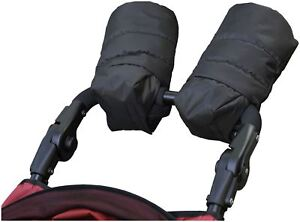 Outnabout-OUT-039-N-039-ABOUT-HAND-MUFFS-BLACK-Pushchair-Pram-Accessory-BN