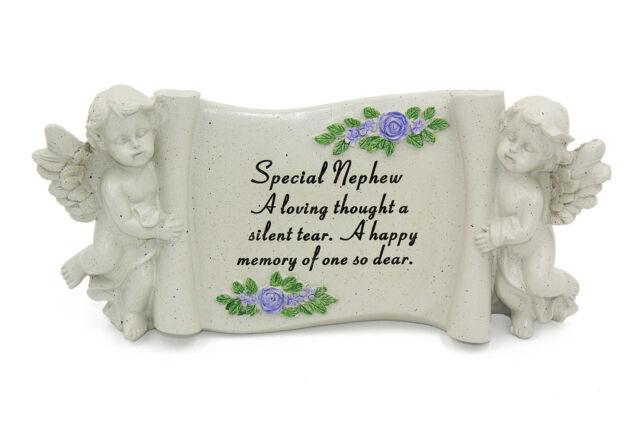 Special Nephew Graveside Memorial Scroll Plaque Ornament Grave Tribute Decoratio