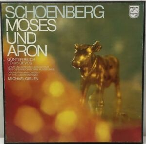 Schoenberg-Moses-Und-Aron-2-LP-Record-Box-Set-With-Book-6700-084-Gielen