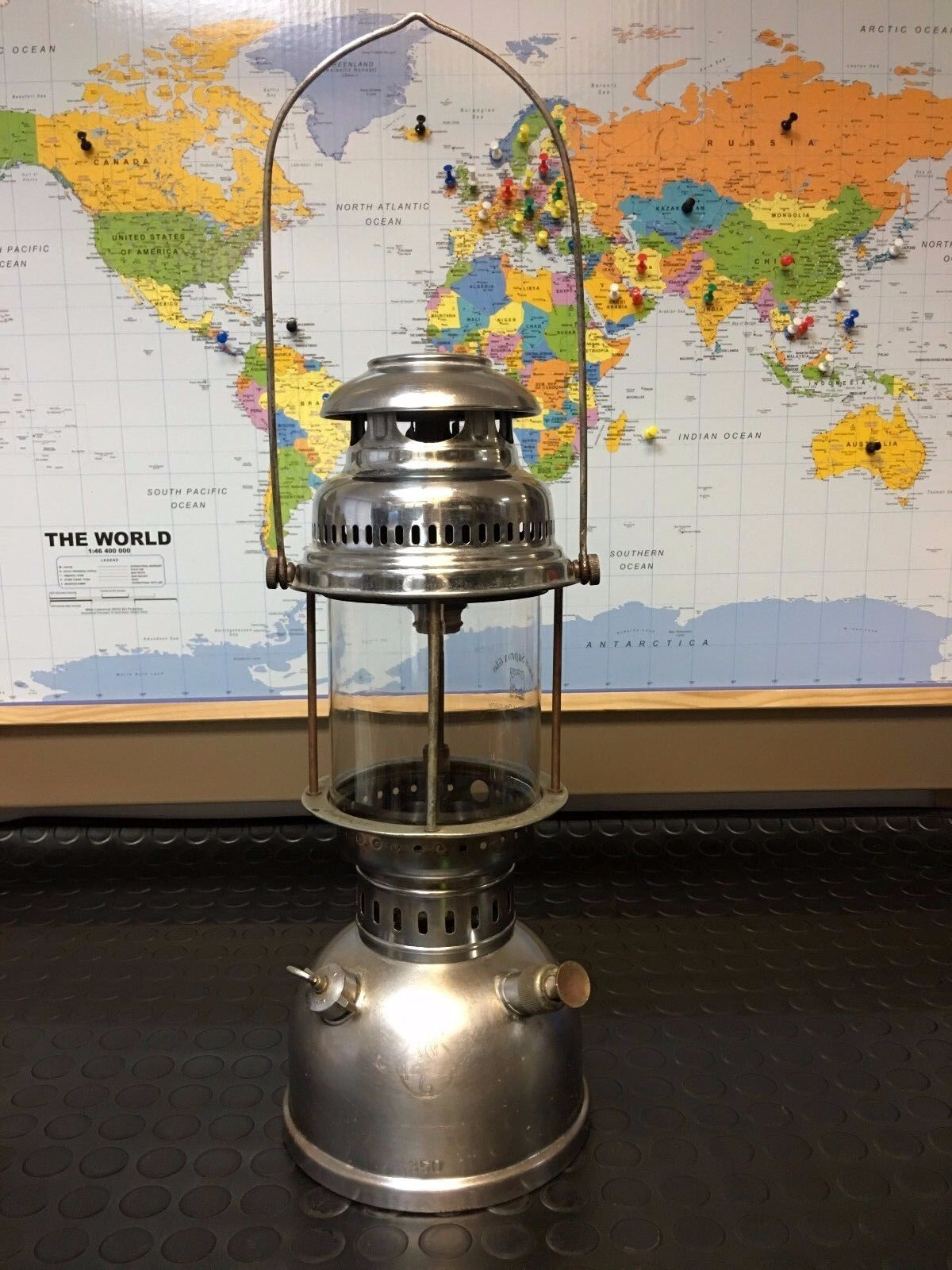 Portuguese Hipolito Biggest 350 CP  Pressure Lamp Paraffin Kepinkne Lantern  save 35% - 70% off