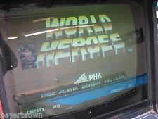 NEO GEO MVS Arcade Game Cartridge - WORLD HEROES - Working -