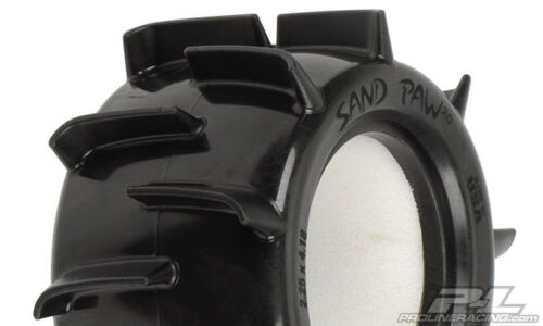 """Proline XTM Compound Sand Paw 2.0 2.2/"""" Paddle Tires for 1//10 Trucks # 1052-01"""