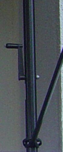 Klemm-Markise mit manuellem Kettenantrieb Dralon 9200