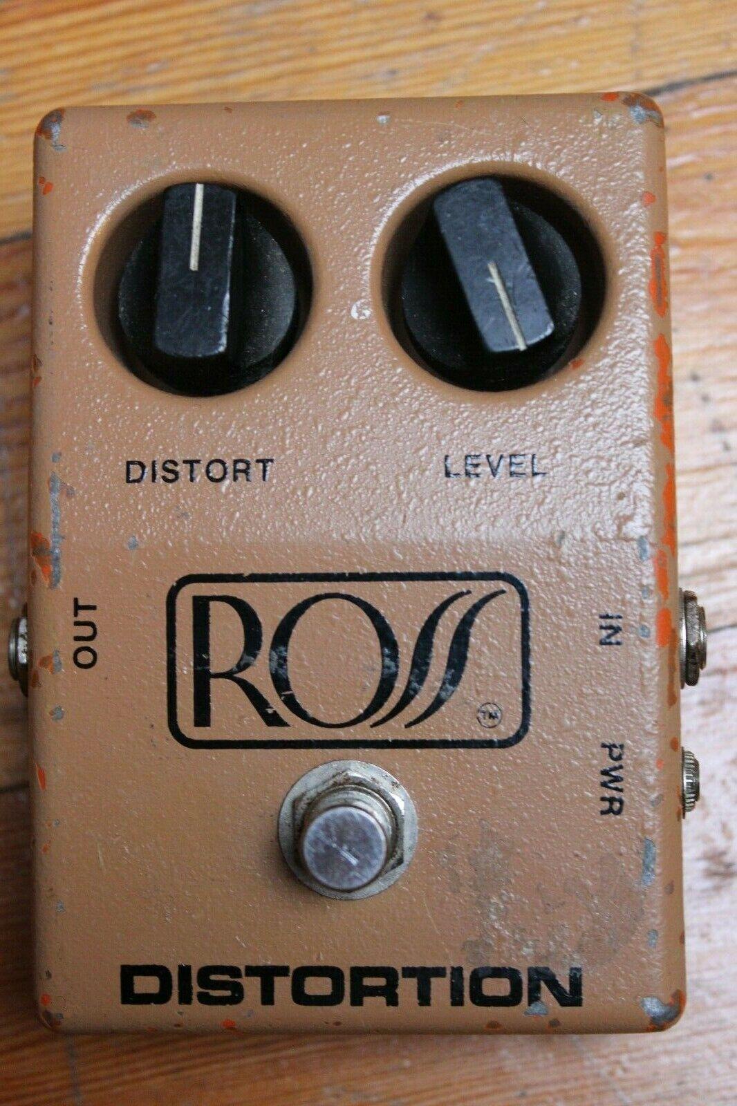 Ross R50 Distortion c. 1979 braun