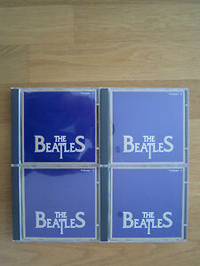Fuer-BEATLES-Fans-THE-BEATLES-Seltene-4-CD-Kollektion-mit-64-Titeln
