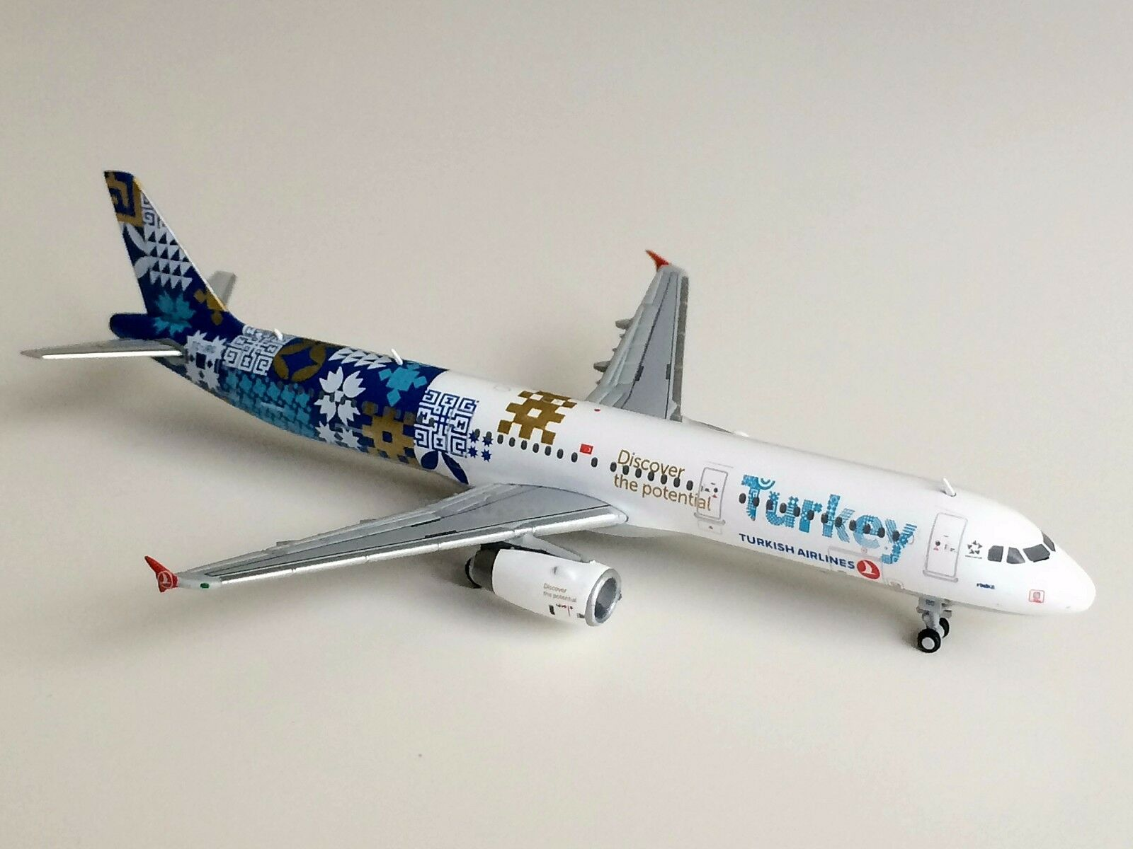 JC Wings 1 400 Turkish Airlines Airbus A321 Discover Potential AVIATIONMODELSHOP  | Vielfältiges neues Design