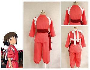 Spirited Away Miyazaki Hayao Chihiro Ogino Sen Haku Cosplay Costume Kids Custom Ebay
