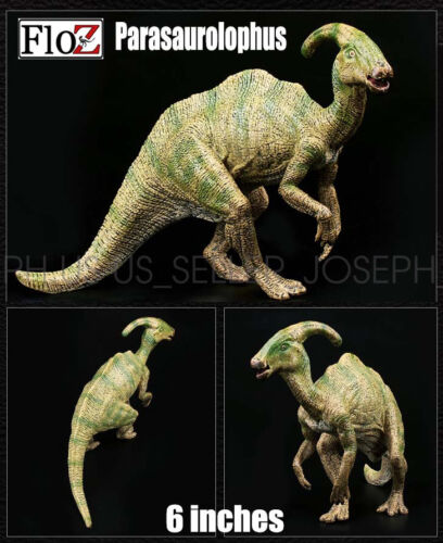 Floz Parasaurolophus Dinosaurs half crouch 6 inches figure model