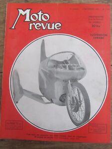 ANCIENNE-REVUE-MOTO-REVUE-N-1100-SEPTEMBRE-1952-GINO-CAVANA