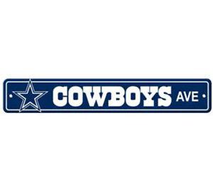Dallas-Cowboys-Ave-Street-Sign-4-034-x24-034-NFL-Football-Team-Logo-Avenue-Man-Cave