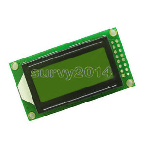 Yellow 0802 LCD 8x2 Character LCD Display Module 5V LCM For Arduino Raspberry